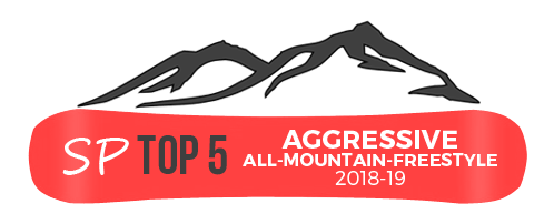 Aggressive All Mountain Freestyle Snowboards
