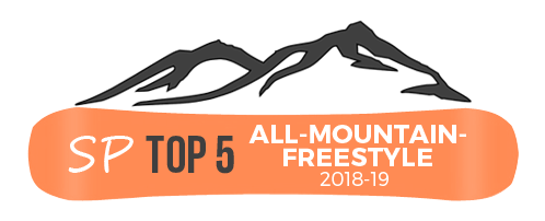 best all mountain freestyle snowboards