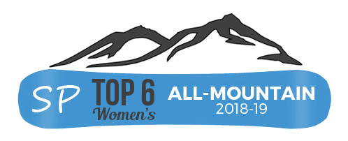 best womens all mountain snowboards