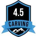 CARVING BADGE 4.5