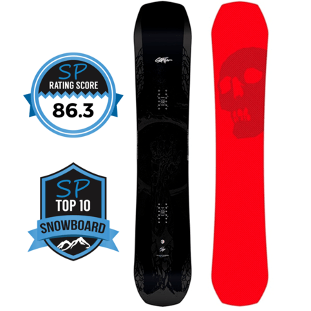 Capita Black Snowboard of Death Review